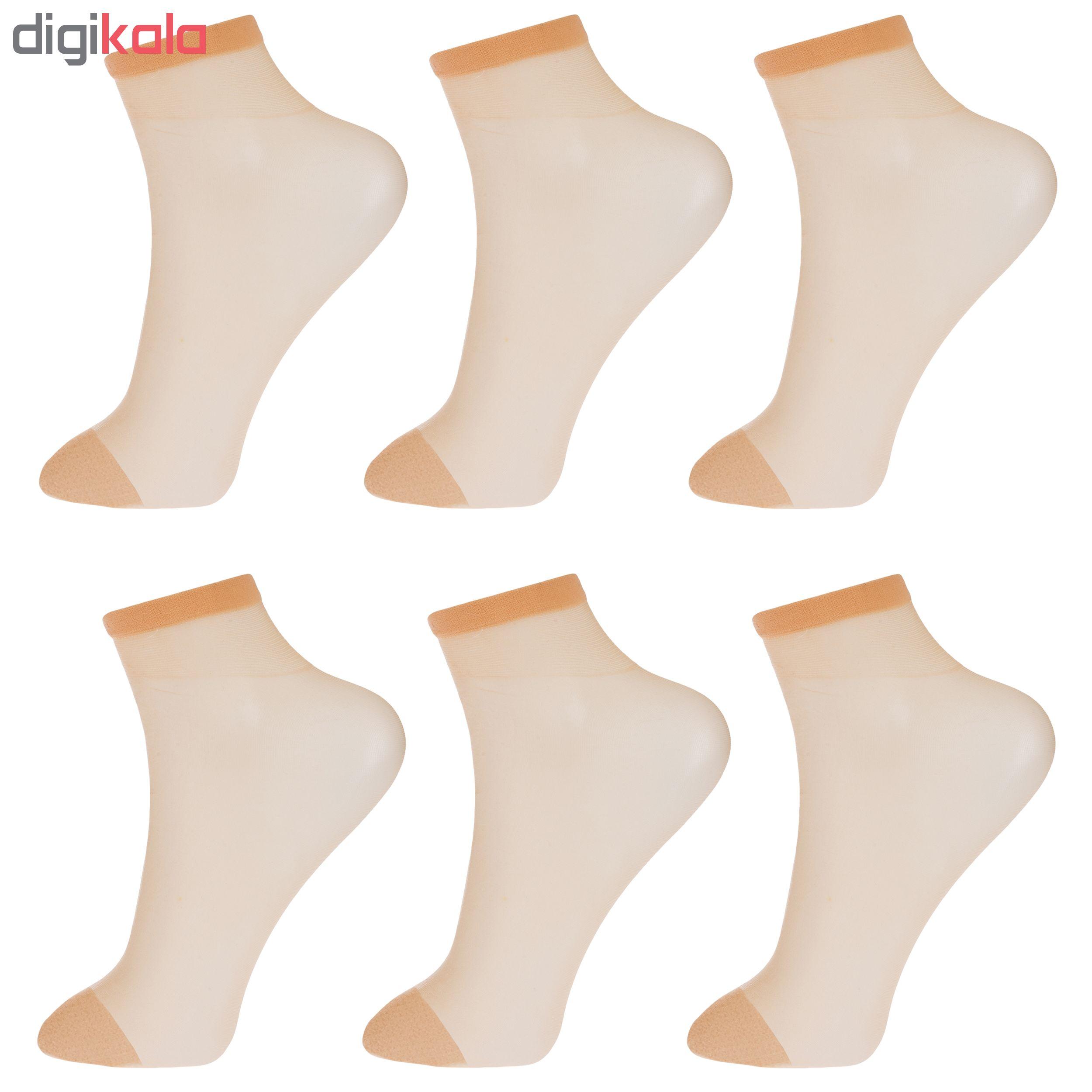 جوراب زنانه پنتی کد RG-PF 15-111 بسته 6 عددی main 1 2