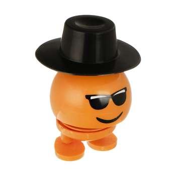 عروسک فنری طرح ایموجی کلاه دار کد EM111
