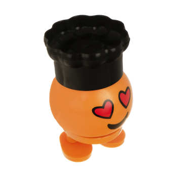 عروسک فنری طرح ایموجی کلاه دار کد EM333