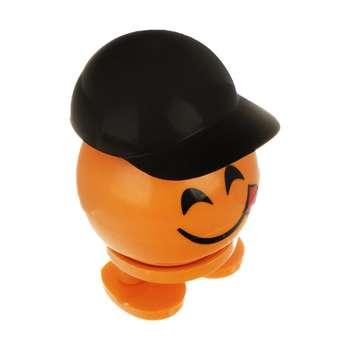 عروسک فنری طرح ایموجی کلاه دار کد EM555