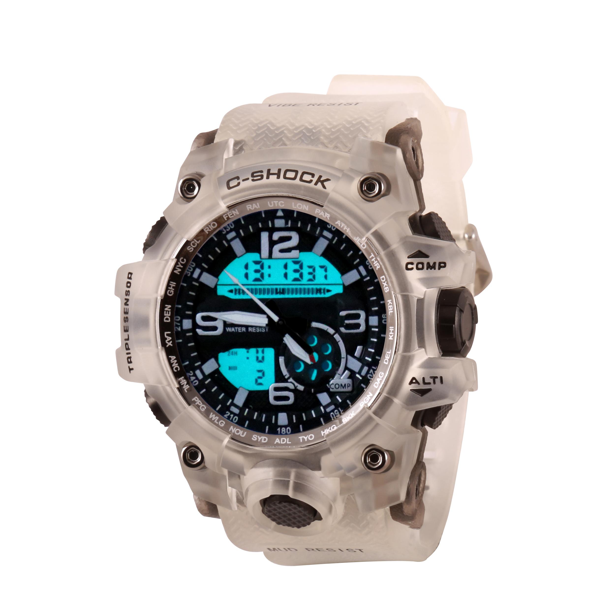 ساعت مچی عقربه ای مردانه سی شاک مدل cl07