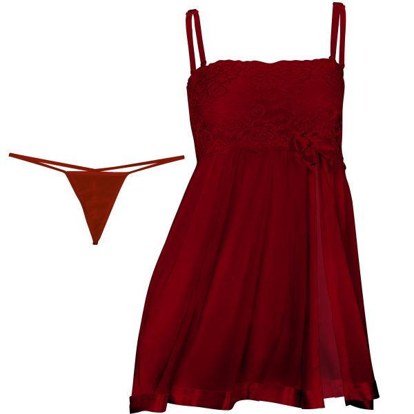 لباس خواب زنانه مدل Prenses-Z 07