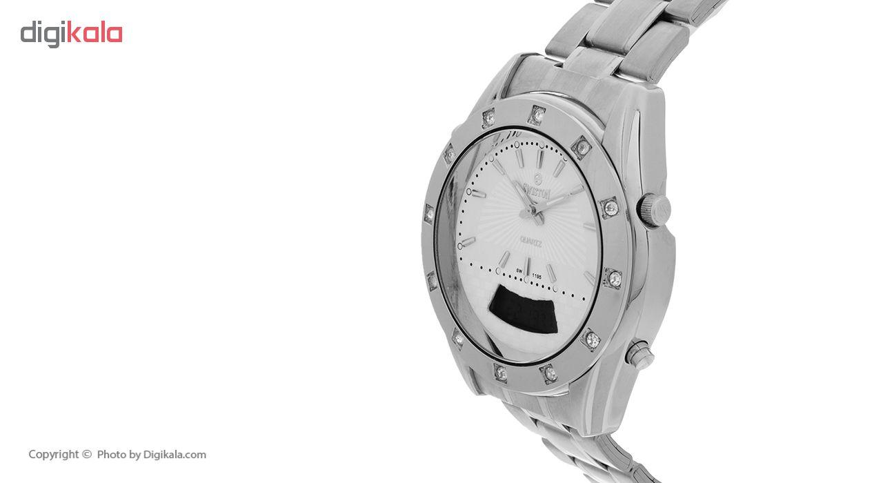 ساعت خرید اینترنتی ساعتمردانه سویستون مدل SW-1195M-S