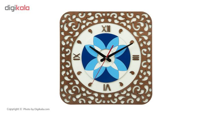 ساعت دیواری معرق کاری هُم آدیس مدل KITA کد CK 609-CK