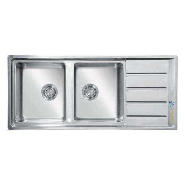 سینک ظرفشویی زرتوس کد ZSS1 توکار