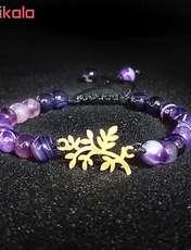 دستبند طلا 18 عیار زنانه اقلیمه کد DT172 -  - 3