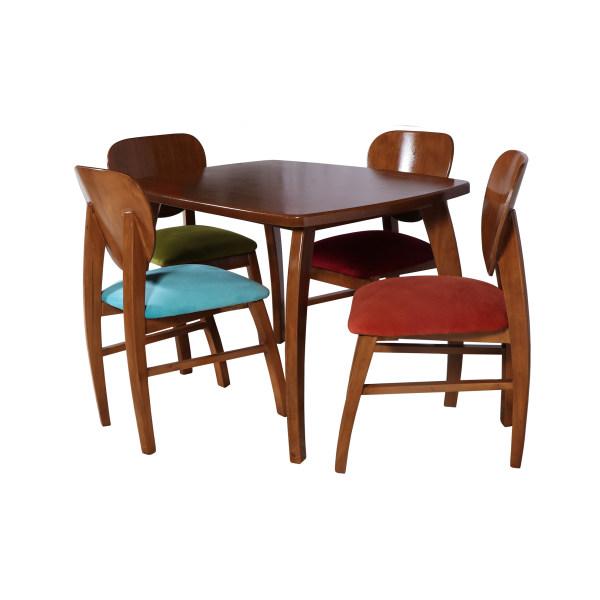 میز و صندلی ناهار خوری چوبکو کد 106