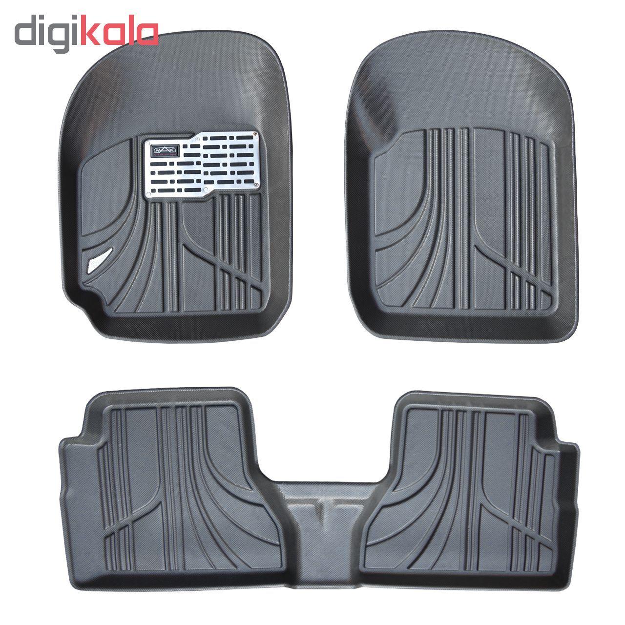 کفپوش سه بعدی خودرو مکس مدل K001 مناسب برای پراید صبا main 1 1