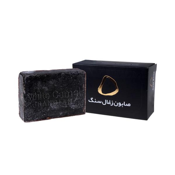 صابون شستشو ایران گیاه مدل زغال سنگ وزن 100 گرم