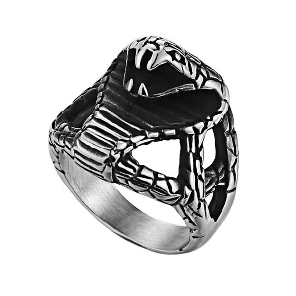 انگشتر مردانه مدل Snake کد ST-KB4