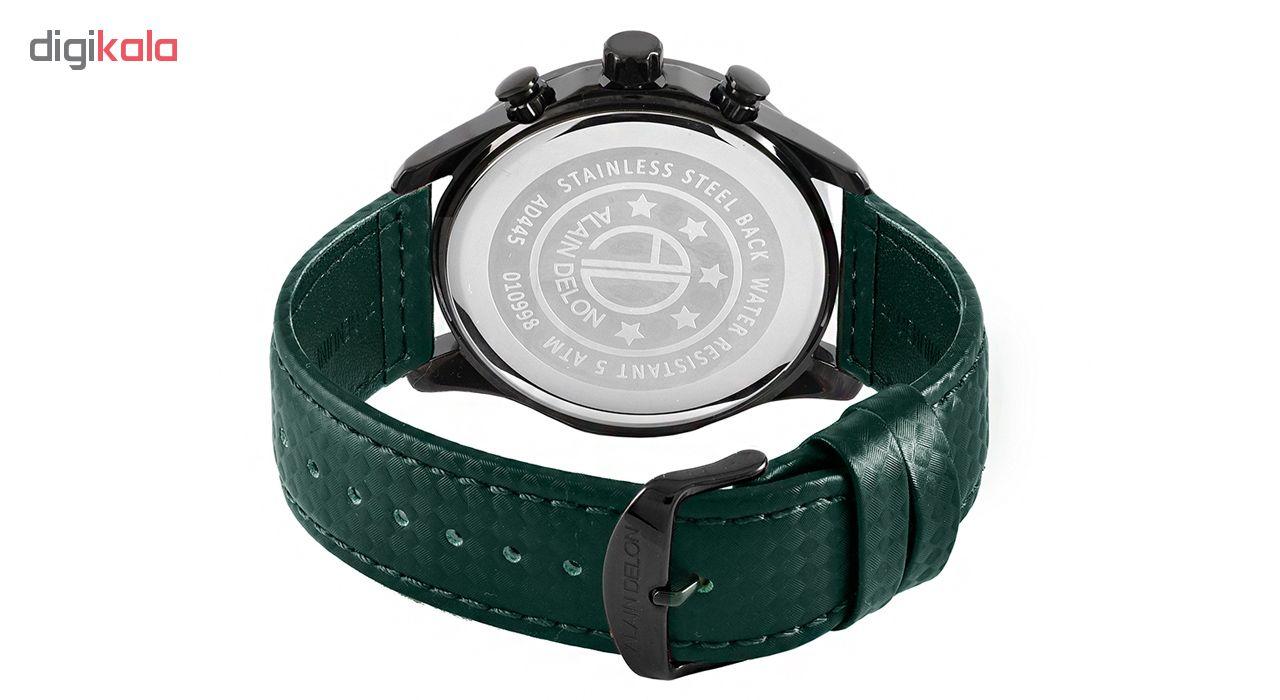 کد تخفیف                                      ساعت مچی عقربه ای مردانه آلن دلون کد AD445-1792C