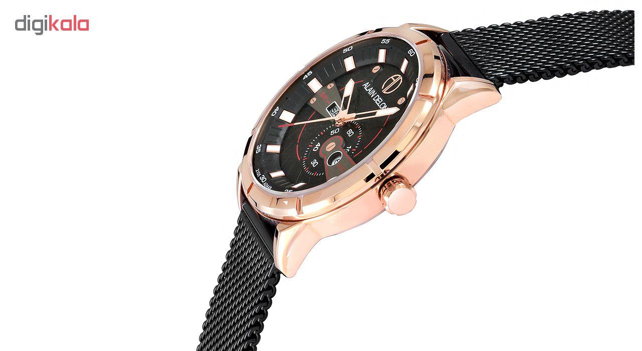 کد تخفیف                                      ساعت مچی عقربه ای مردانه آلن دلون کد AD449-1535