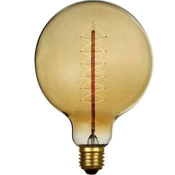 لامپ ادیسونی 40 وات مدل  G95 پایه E27