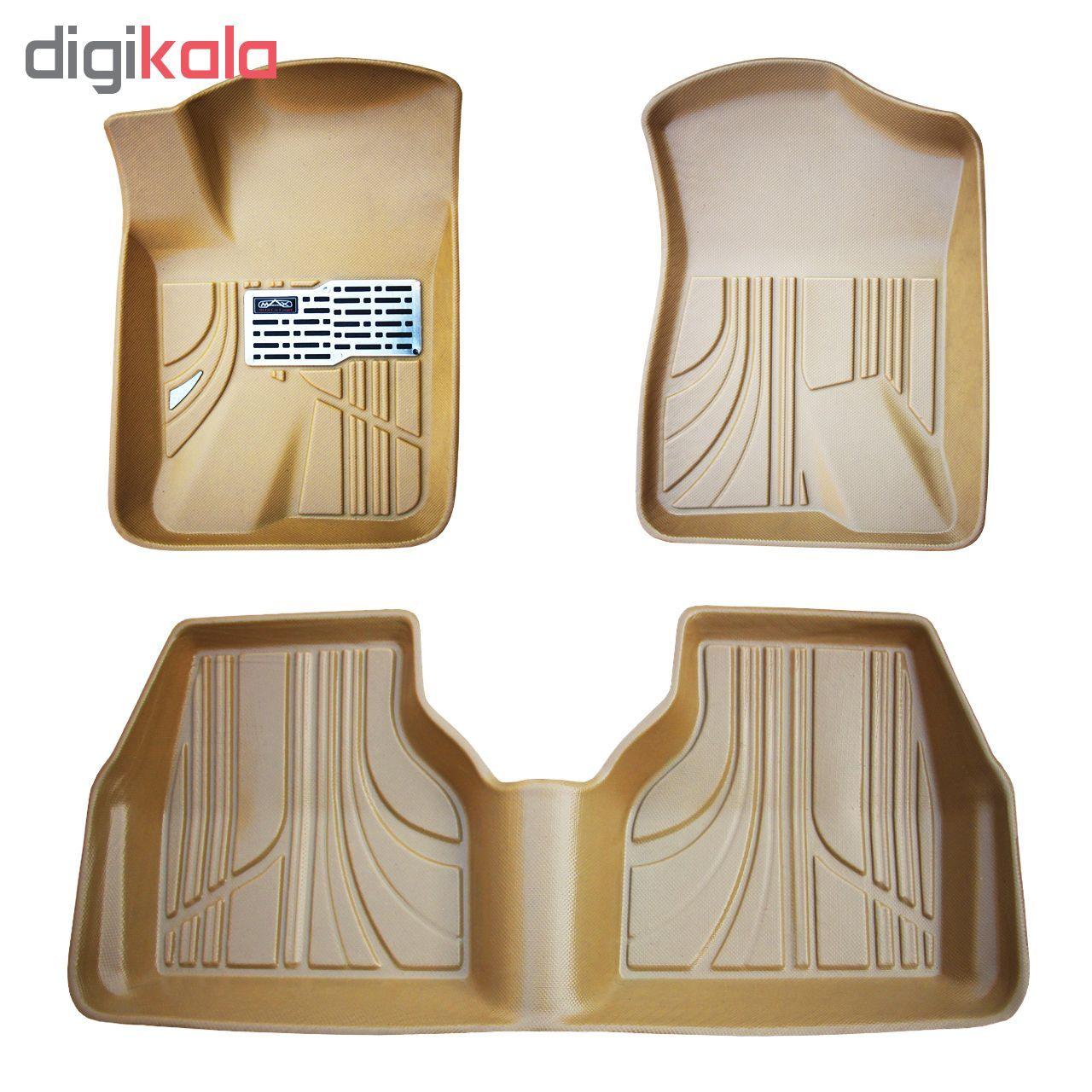 کفپوش سه بعدی خودرو مکس مدل K007 مناسب برای پژو 405 main 1 1