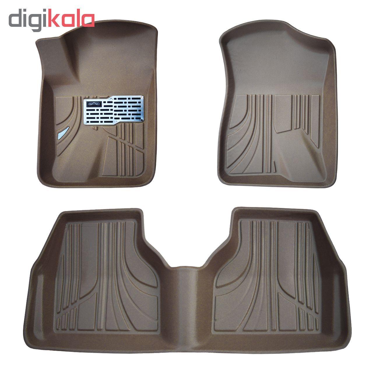 کفپوش سه بعدی خودرو مکس مدل K007 مناسب برای پژو 405 main 1 2