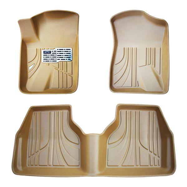 کفپوش سه بعدی خودرو مکس مدل K009 مناسب برای سمند