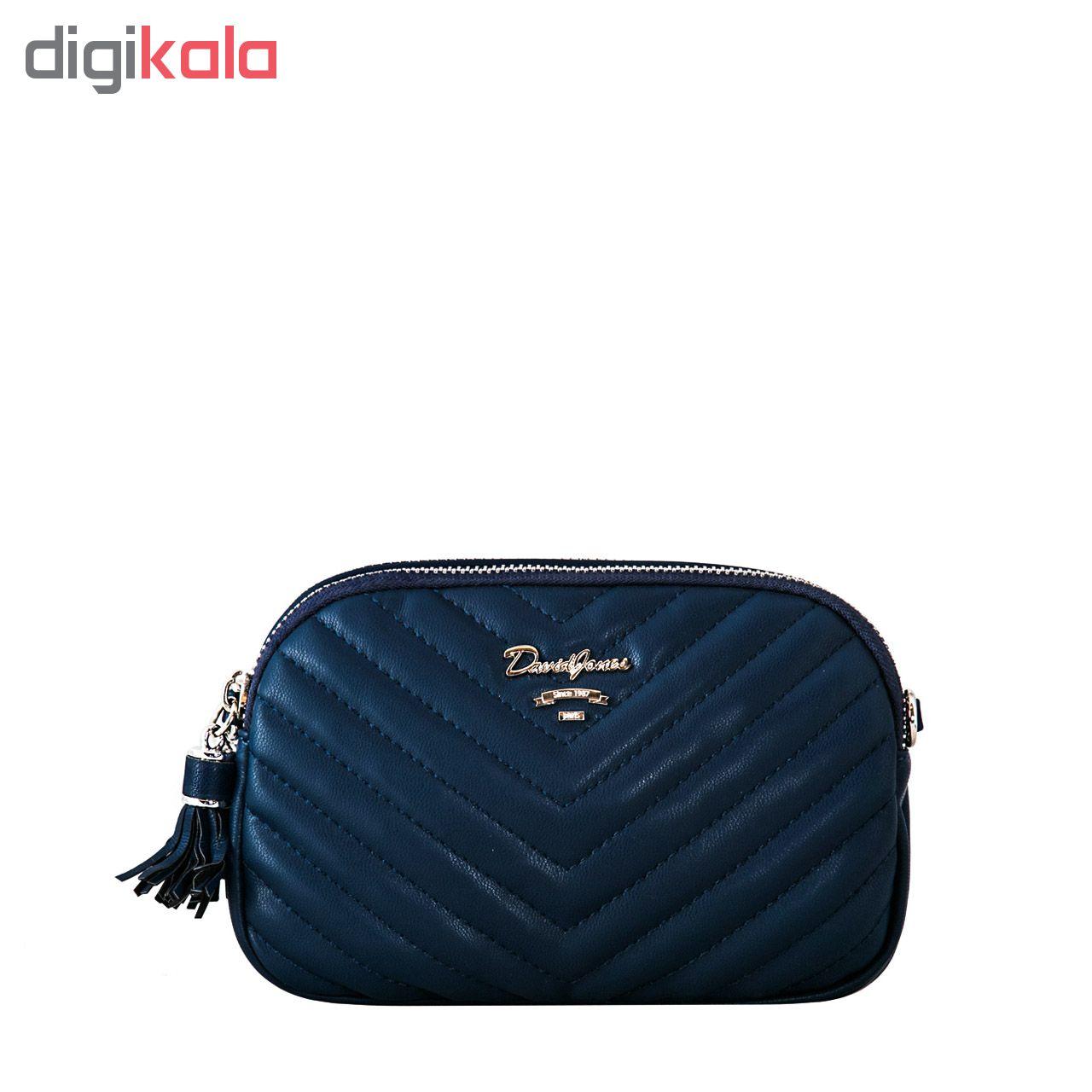 کیف دوشی زنانه دیوید جونز کد cm5481