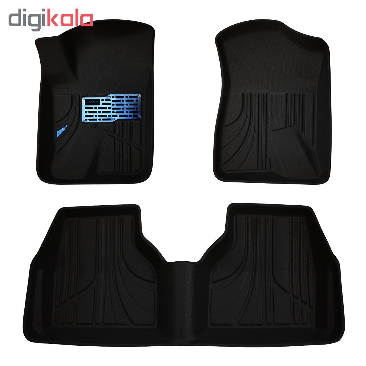 کفپوش سه بعدی خودرو مکس مدل K009 مناسب برای سمند main 1 2