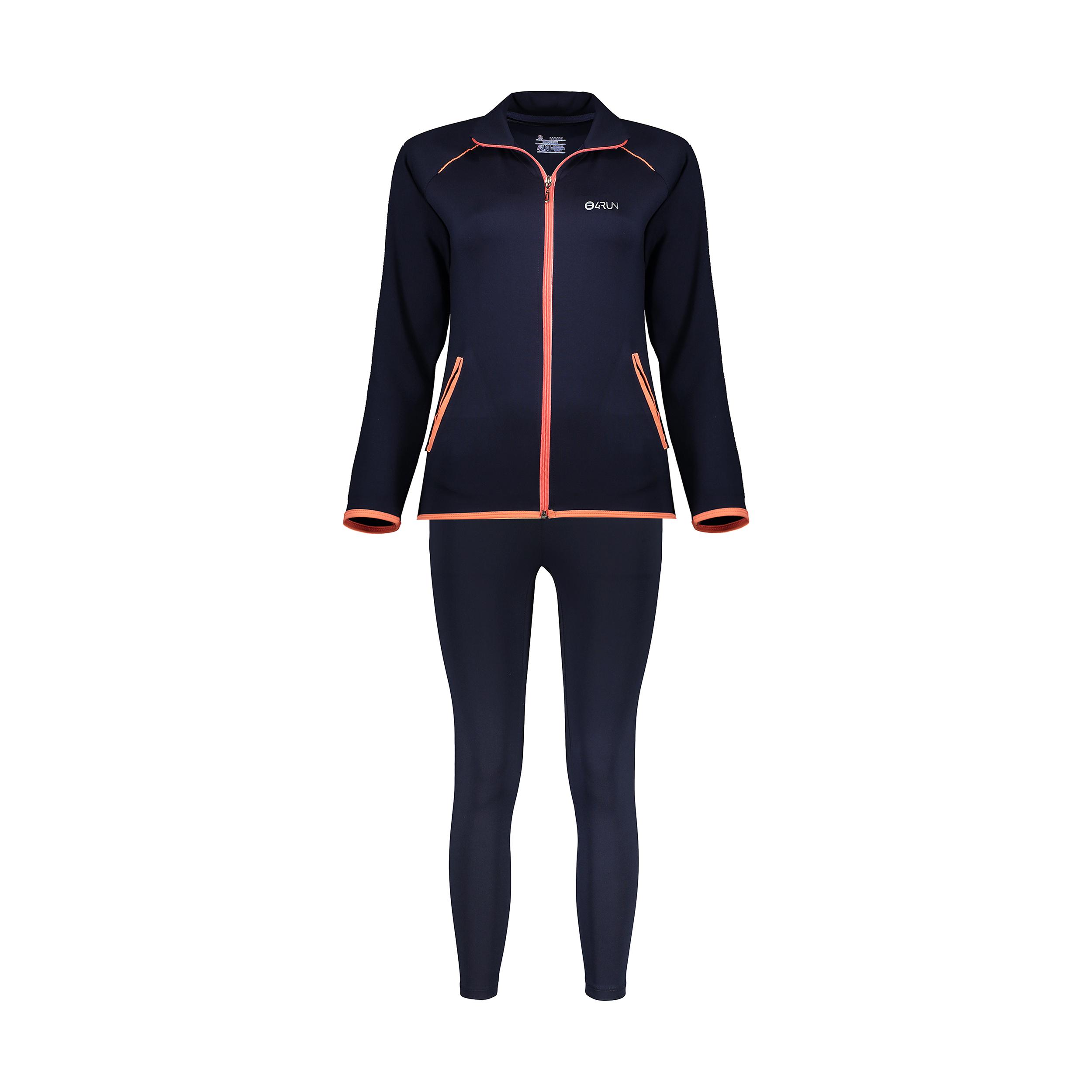 ست سویشرت و شلوار ورزشی زنانه بی فور ران مدل 980121-59