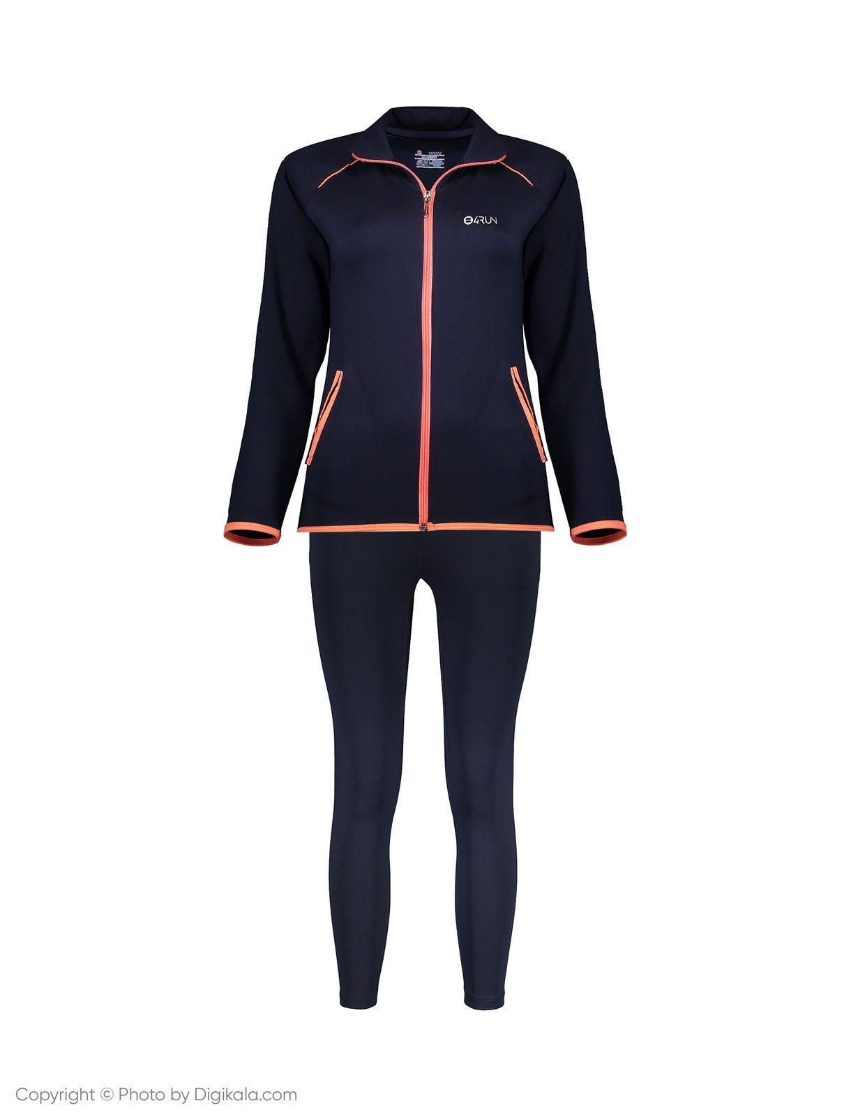 ست سویشرت و شلوار ورزشی زنانه بی فور ران مدل 980121-59 main 1 1