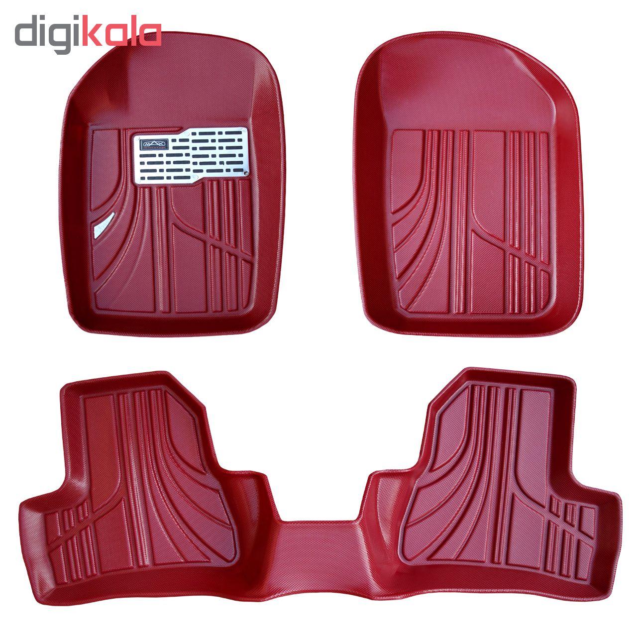 کفپوش سه بعدی خودرو مکس مدل K011 مناسب برای پژو 206 main 1 1