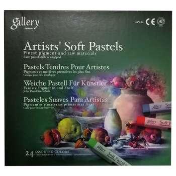 پاستل گچی 24 رنگ مونگیو مدل Gallery