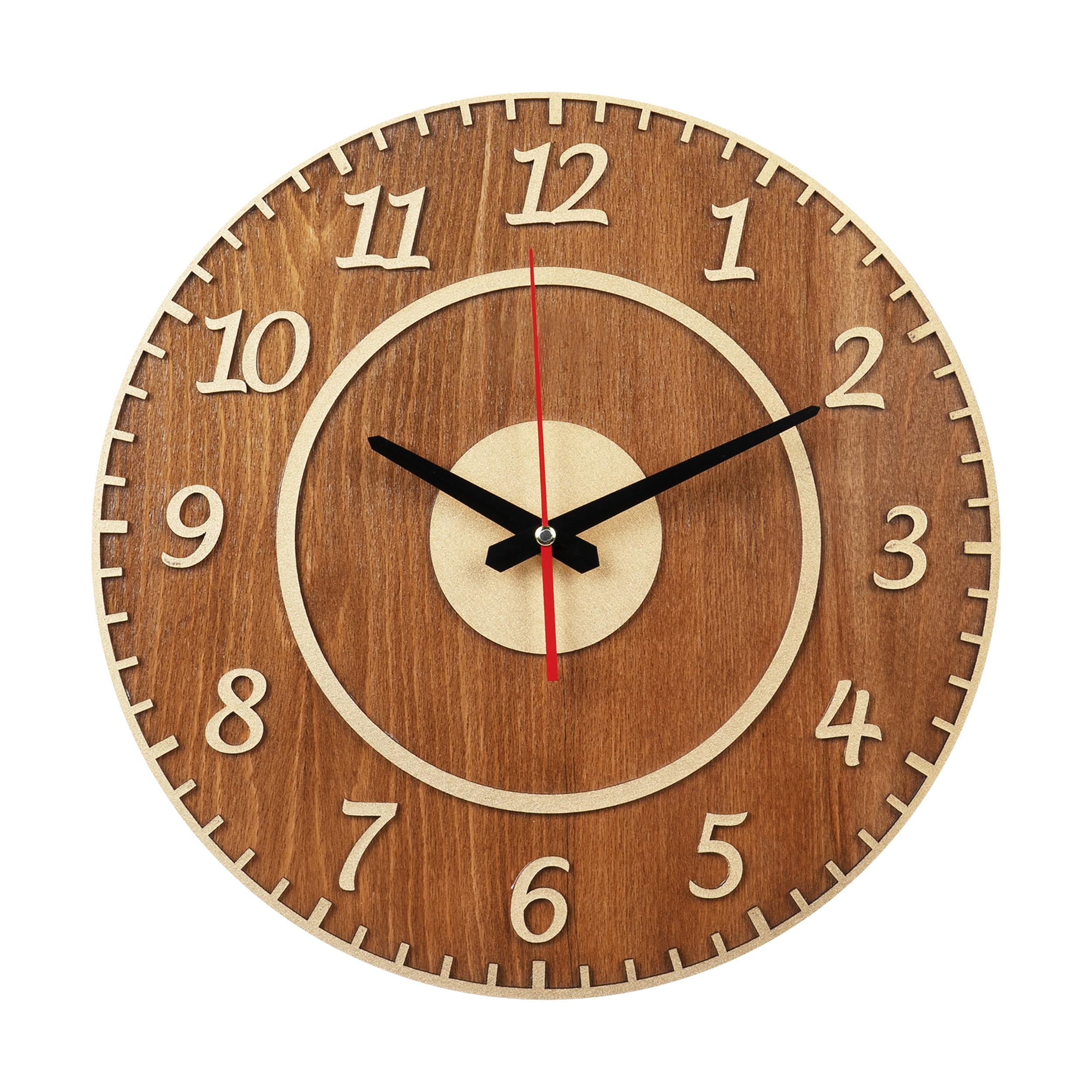 ساعت دیواری معرق کاری هُم آدیس مدل KITA کد CK 608-TC