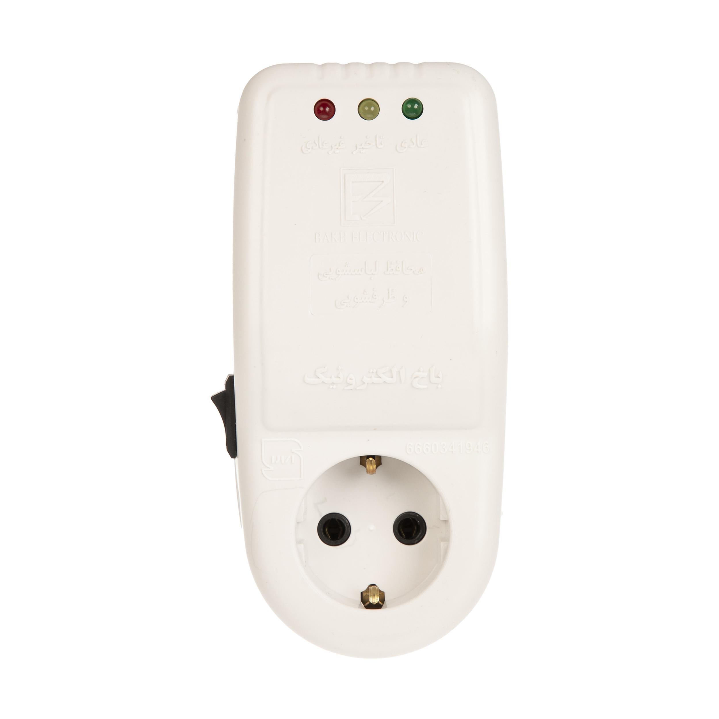 محافظ ولتاژ آنالوگ باخ الکترونیک مدل S1-1 مناسب برای ماشین لباسشویی و ماشین ظرفشویی