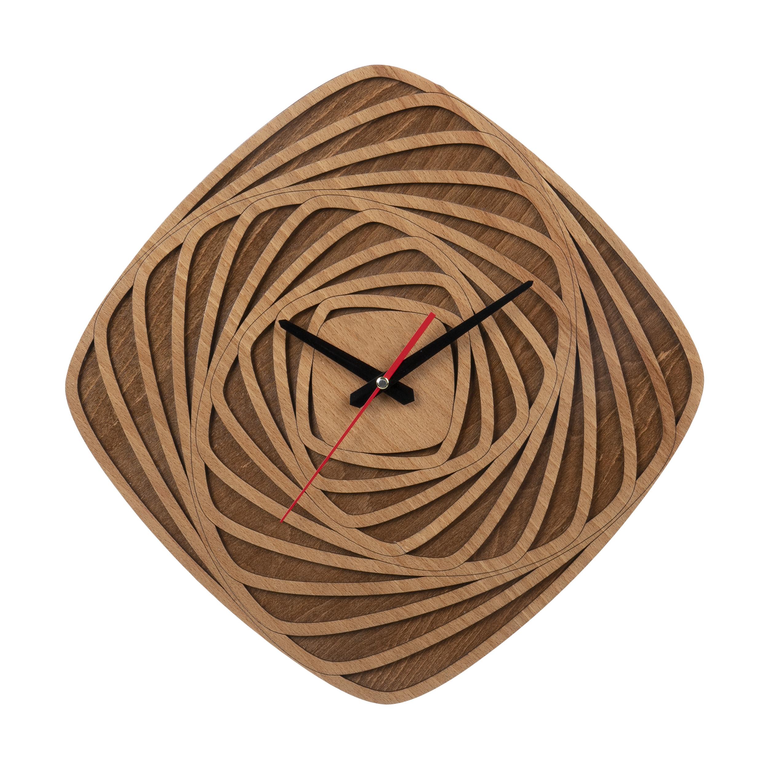 ساعت دیواری معرق کاری هُم آدیس مدل KITA کد CK 607-C