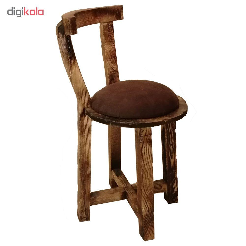 خرید                      میز و صندلی شطرنج چوبر کد 003