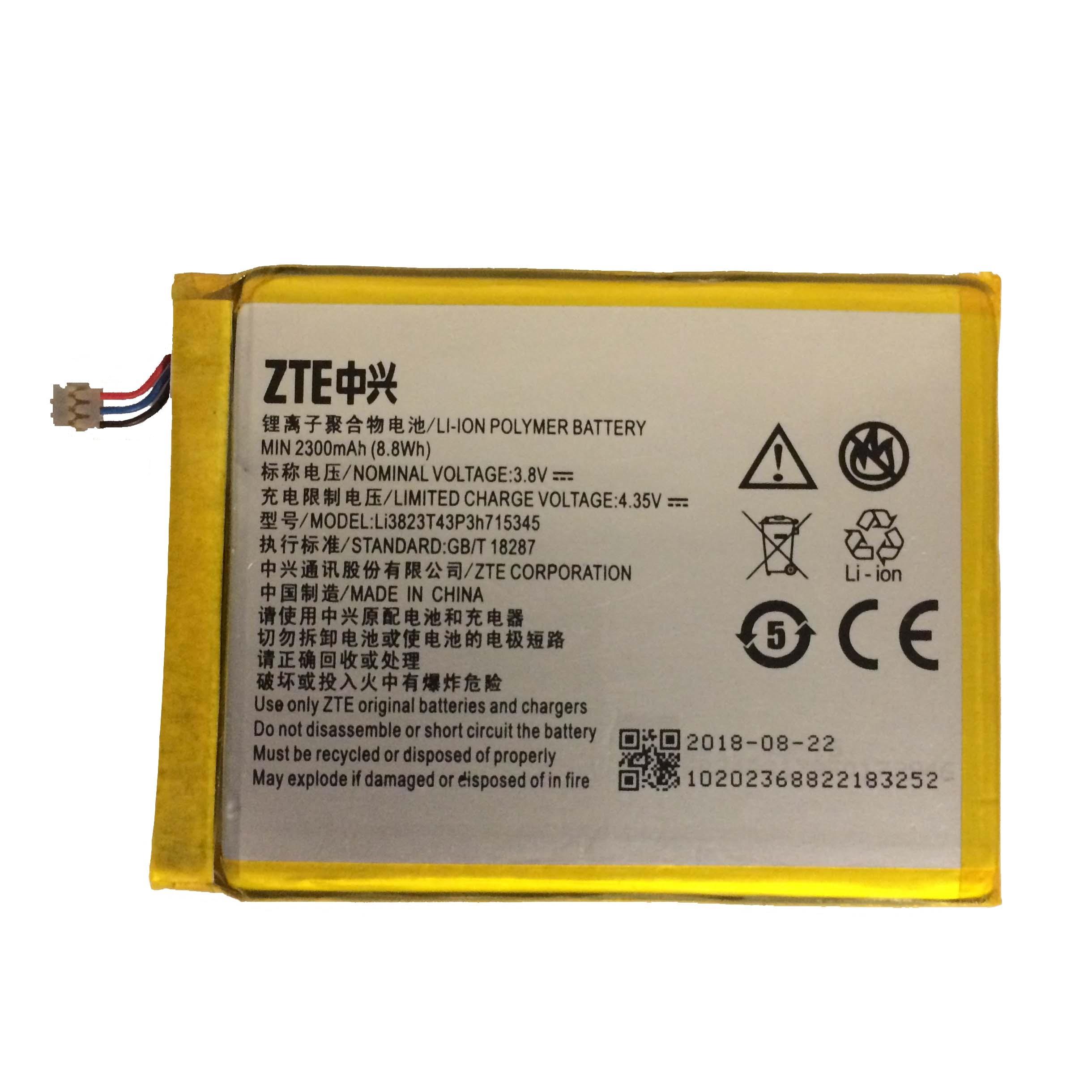 باتری  لیتیوم یون زد تی ای  مدل Li3823T43P3h715345 مناسب برای مودم همراه ایرانسل  MF910