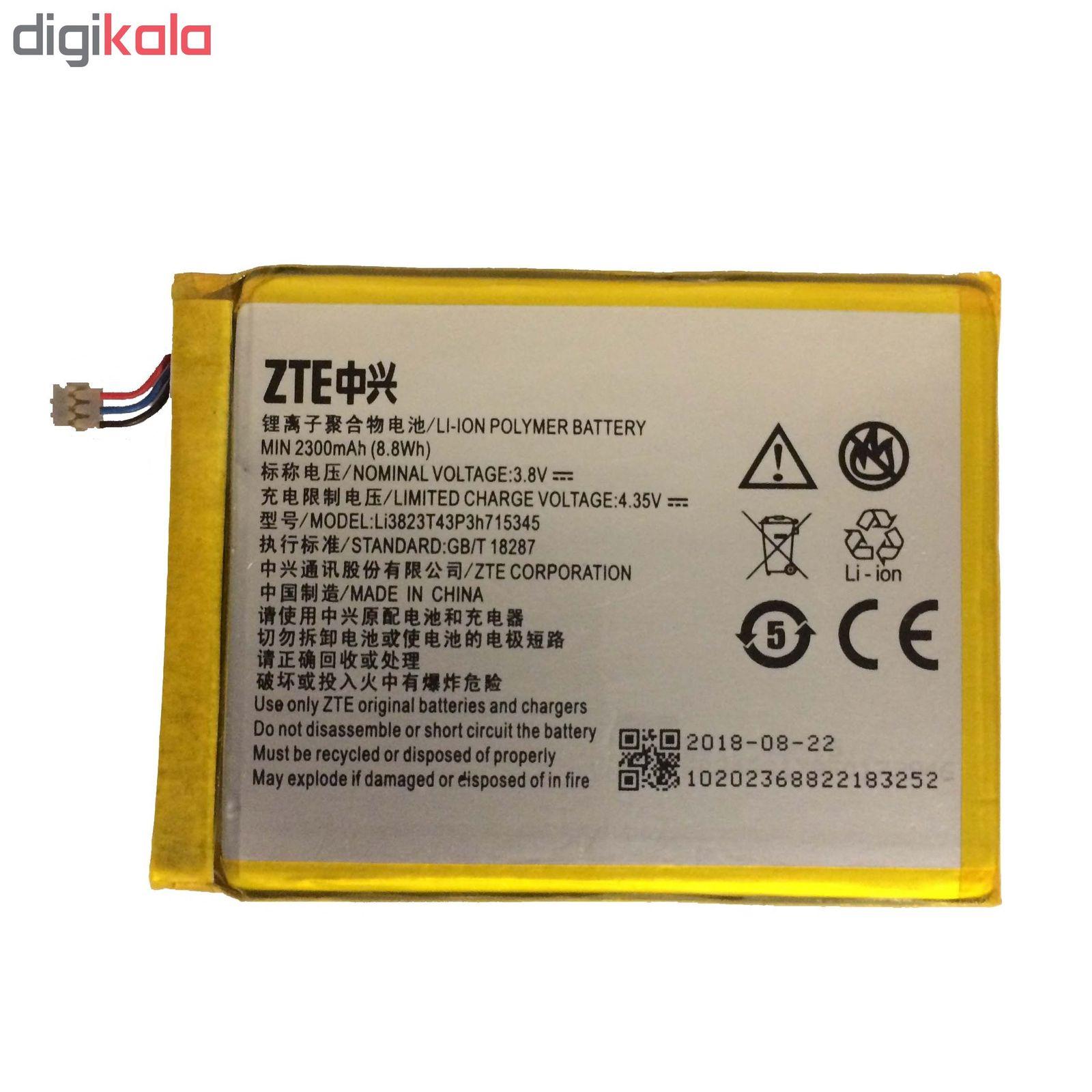 باتری  لیتیوم یون زد تی ای  مدل Li3823T43P3h715345 مناسب برای مودم همراه ایرانسل  MF910 main 1 1