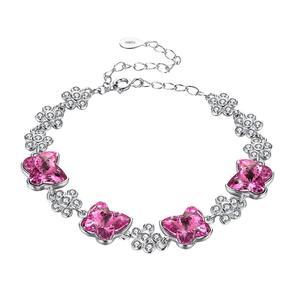 دستبند نقره زنانه کد H237A