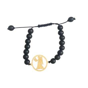 دستبند زنانه طرح ماه تولد شهریور کد 006