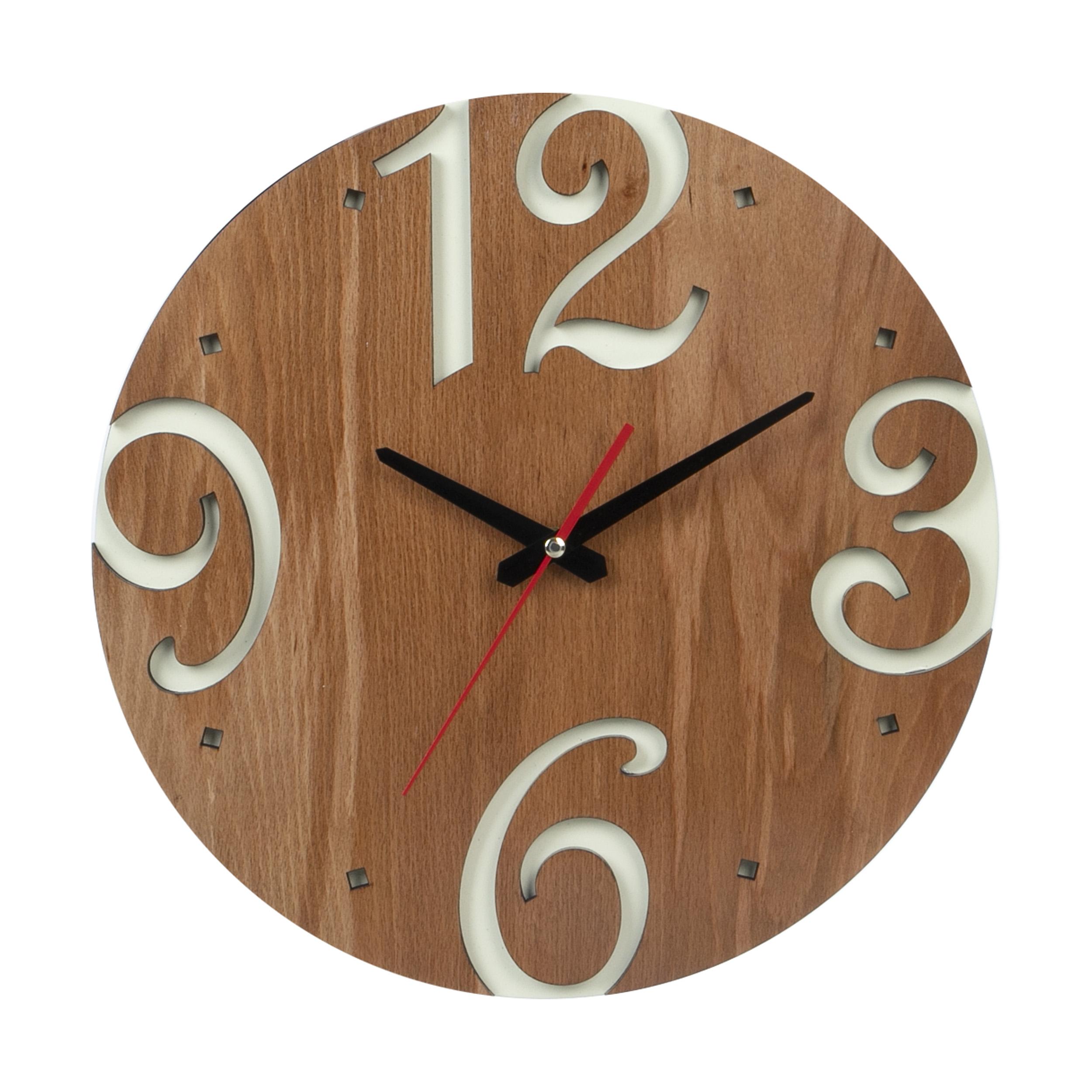 ساعت دیواری معرق کاری هُم آدیس مدل KITA کد CK 605-CK
