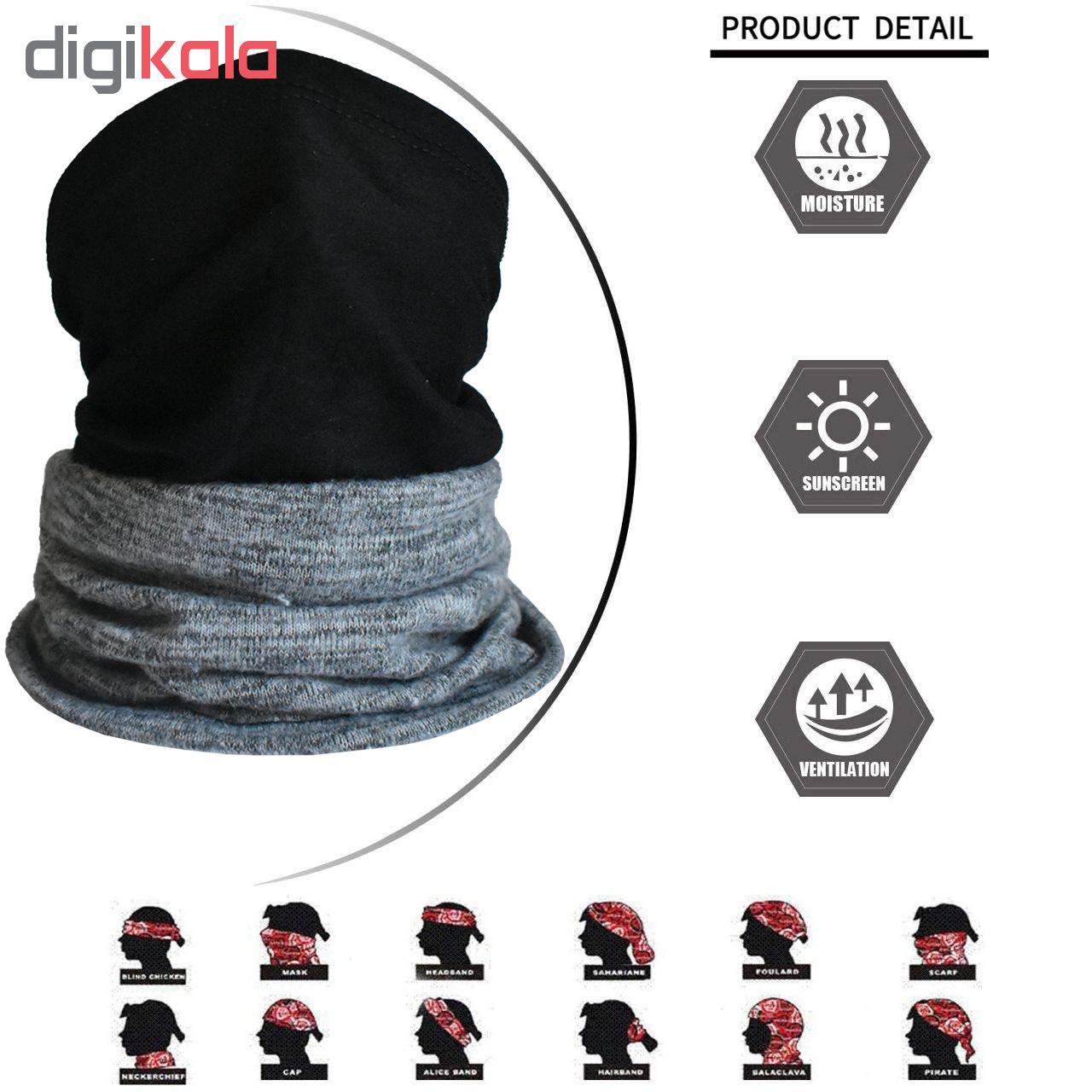 دستمال سر و گردن چابوک مدل Season کد 2018W