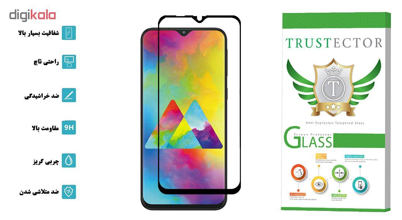 محافظ صفحه نمایش تراستکتور مدل GSS مناسب برای گوشی موبایل سامسونگ Galaxy M20 main 1 2