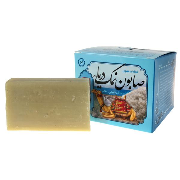 صابون شستشو ایران گیاه مدل نمک دریا وزن 100 گرم