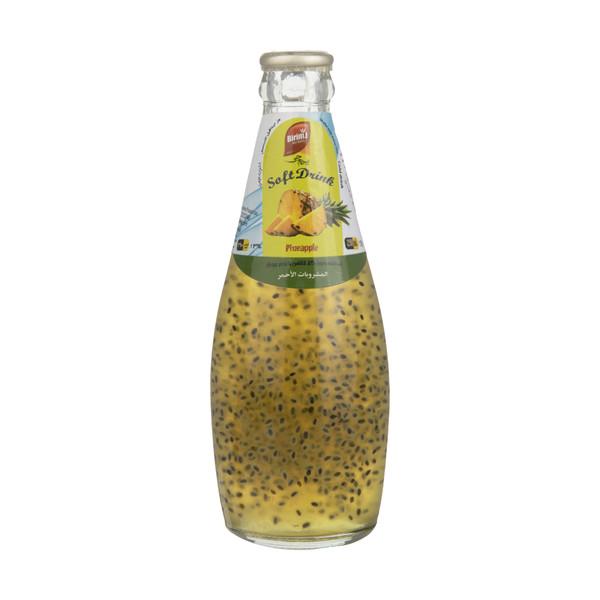 نوشیدنی تخم ریحان با طعم آناناس بیریم جی - 290 میلی لیتر