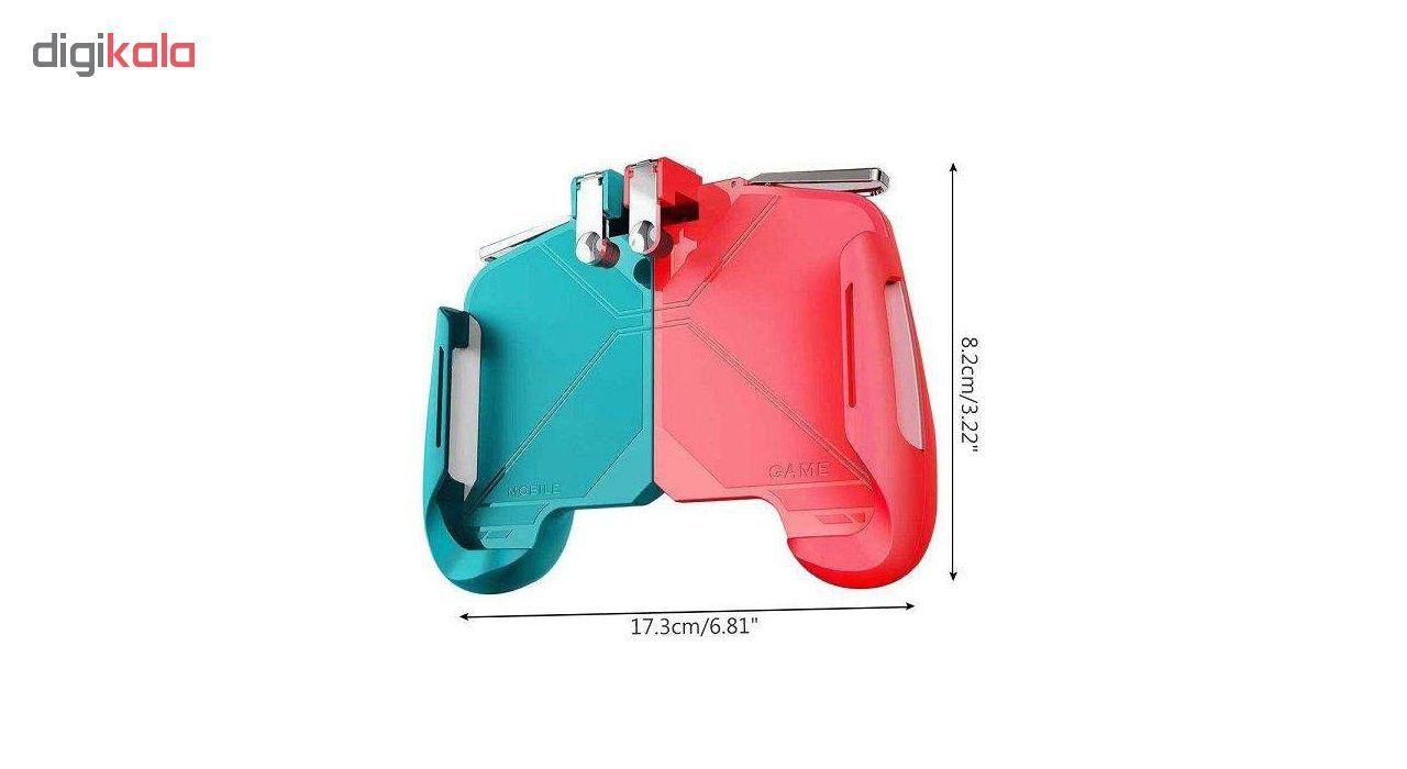 دسته بازی pubg مدل AK 16 مناسب برای گوشی موبایل main 1 16