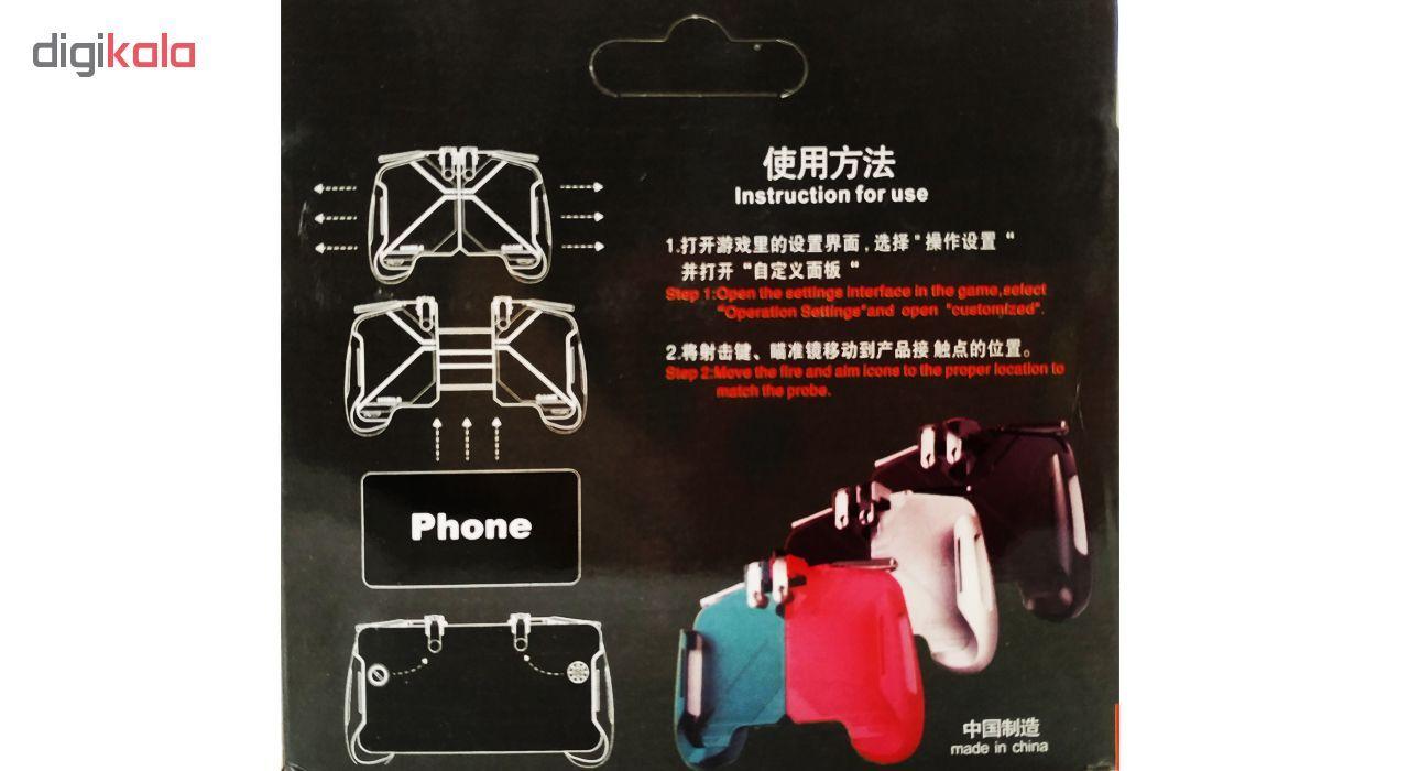 دسته بازی pubg مدل AK 16 مناسب برای گوشی موبایل main 1 7