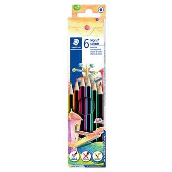 مداد رنگی 6 رنگ استدلر مدل نوریس کد 104486