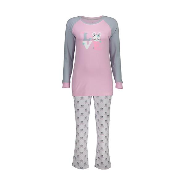 ست تی شرت و شلوار راحتی زنانه ناربن مدل 1521159-8490