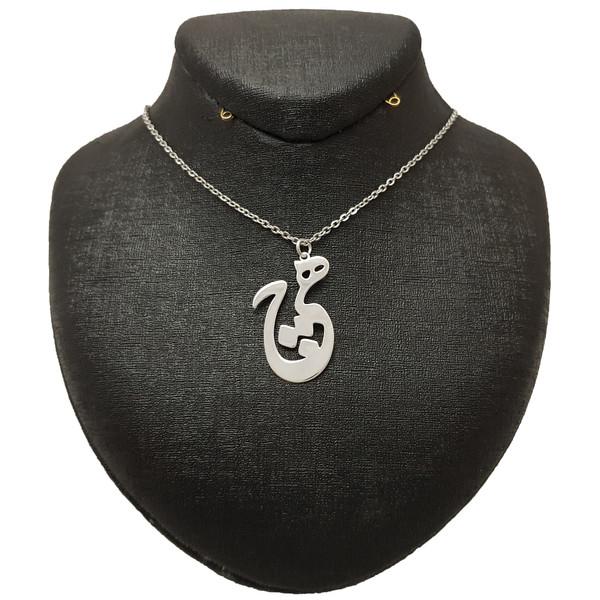 گردنبند نقره زنانه ترمه 1 طرح هیچ کد e50
