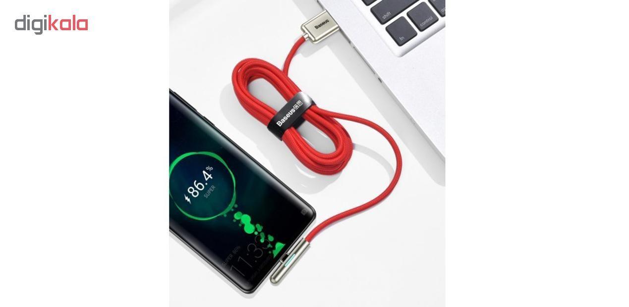 کابل تبدیل USB به USB-C باسئوس مدل CAT7C-C طول  2 متر main 1 13