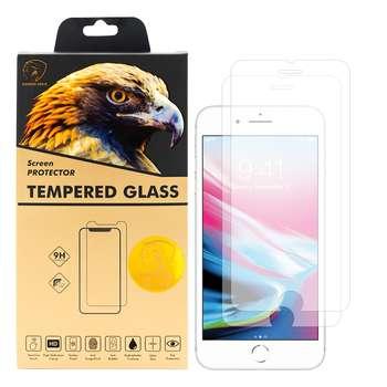 محافظ صفحه نمایش گلدن ایگل مدل GLC-X2 مناسب برای گوشی موبایل اپل iPhone 7 Plus بسته دو عددی