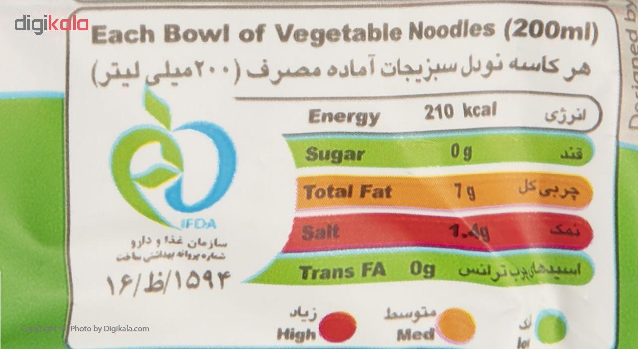 نودل با طعم سبزیجات جهان مقدار 75 گرم main 1 3