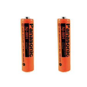 باتری نیم قلمی قابل شارژ پاناسونیک مدل HHR-550  بسته 2 عددی