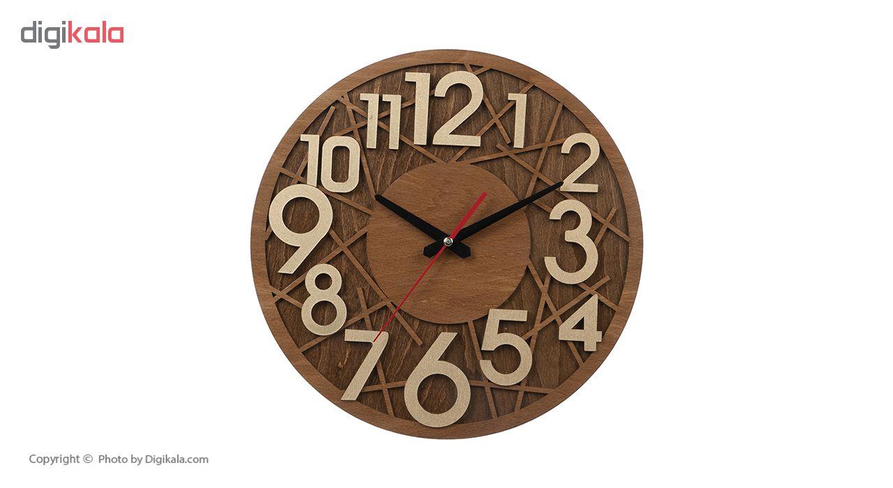 ساعت دیواری معرق کاری هُم آدیس مدل KITA کد CK 602-C