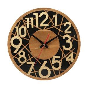 ساعت دیواری معرق کاری هُم آدیس مدل KITA کد CK 602-CM